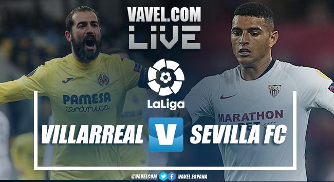 Resumen del Villarreal CF vs Sevilla FC de LaLiga (4-0)