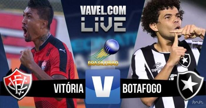 Resultado Vitória x Botafogo no Campeonato Brasileiro 2016 (0-1)