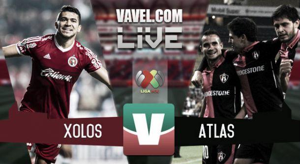 Resultado Tijuana - Atlas en Liga MX 2015 (1-2)