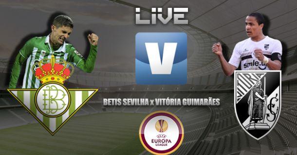Bétis x Vitória Guimarães, directo