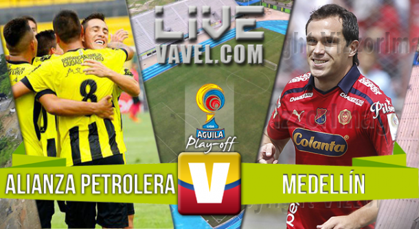 Resultado Alianza Petrolera - Medellín en la Liga Águila 2015 (0-2)