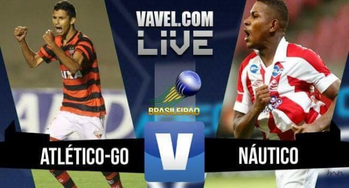 Resultado Atlético-GO x Náutico pela Série B do Campeonato Brasileiro 2016 (3-0)
