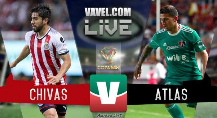 Resultado y gol del Chivas 1-0 Atlas en Copa MX 2017