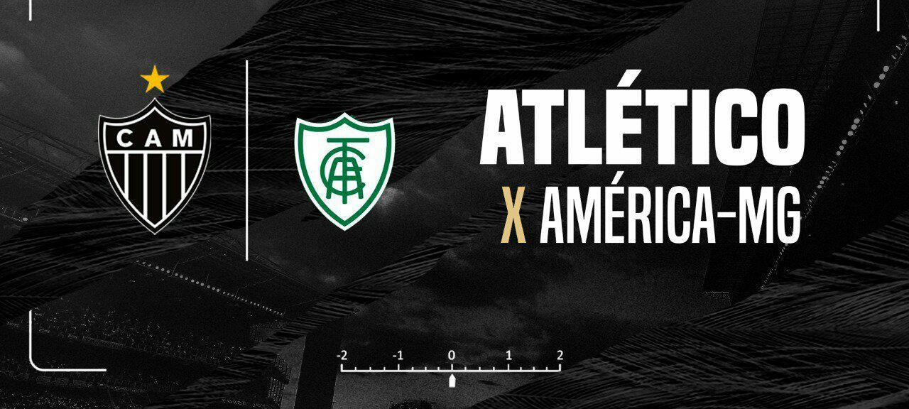 Resultado Atlético-MG 3 x 2 América-MG pelo Campeonato Mineiro