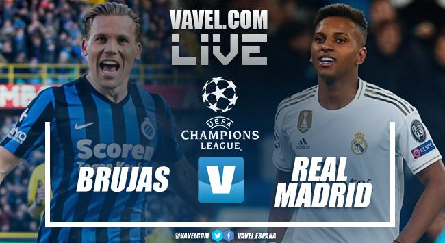 Resumen y mejores momentos Club Brujas 1-3 Real Madrid en Champions League 2019