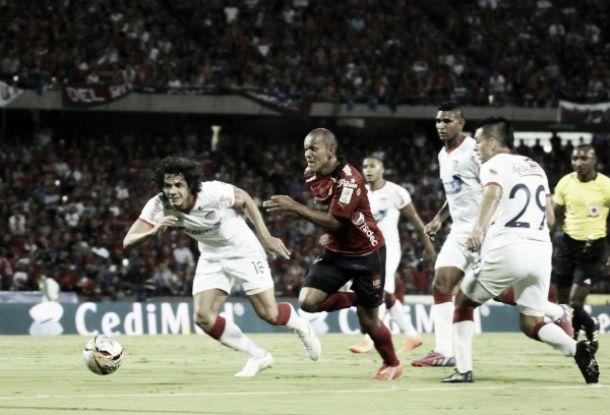 Resultado Medellín - Junior en la Ligua Águila 2015-1 (1-0)