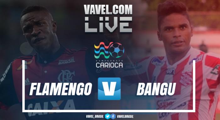 Resultado Flamengo x Bangu pelo Campeonato Carioca 2018 (1-0)