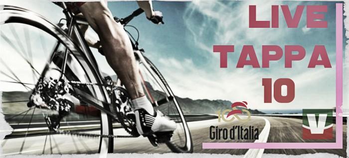 Giro d'Italia in 10^ tappa Foligno-Montefalco: Dumoulin fa tappa e maglia nella crono