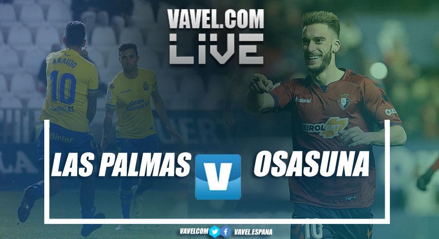 Resumen de Las Palmas vs Osasuna en LaLiga 1|2|3 2019 (4-1)