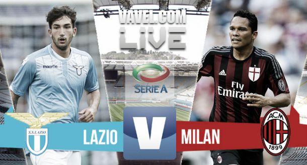 Lazio-Milan, risultato(0-3)Serie A2015/2016. Rivivi il live!