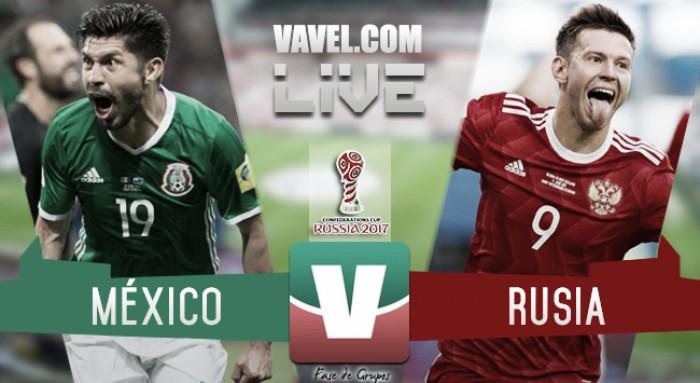 Por la semifinal de la Copa Confederaciones: México 1-1 Rusia