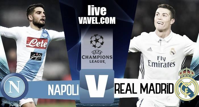 Risultato Napoli 1-2 Real Madrid in Champions League 2017: Sergio Ramos decide il match