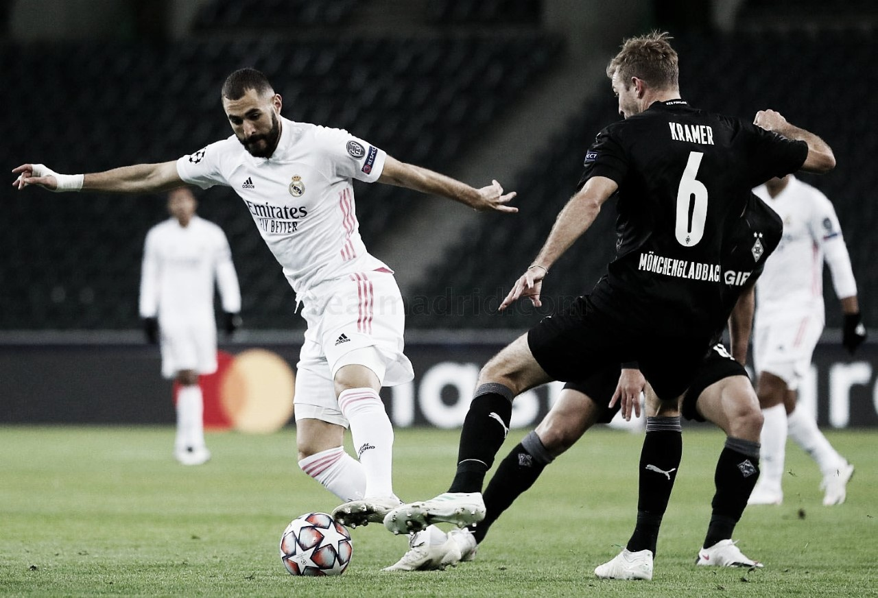 Resumen Real Madrid vs Borussia Mönchengladbach en UEFA Champions League 2020 (2-0)
