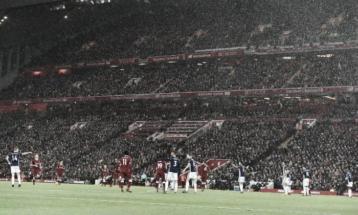 Empate sin goles en Anfield