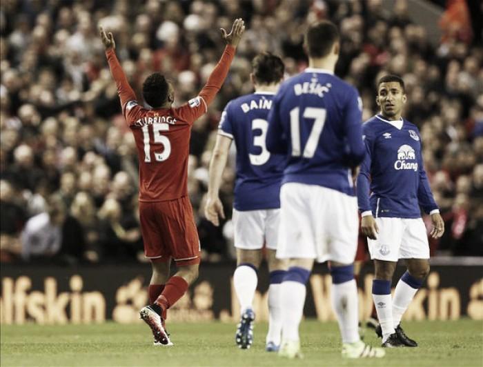 Il Liverpool esagera: quattro a zero nel derby contro l'Everton
