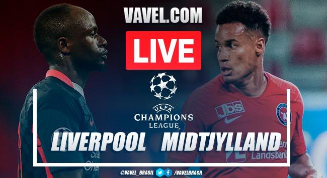 Gols e melhores momentos de Liverpool 2 X 0 Midtjylland pela Liga dos Campeões 2020-21
