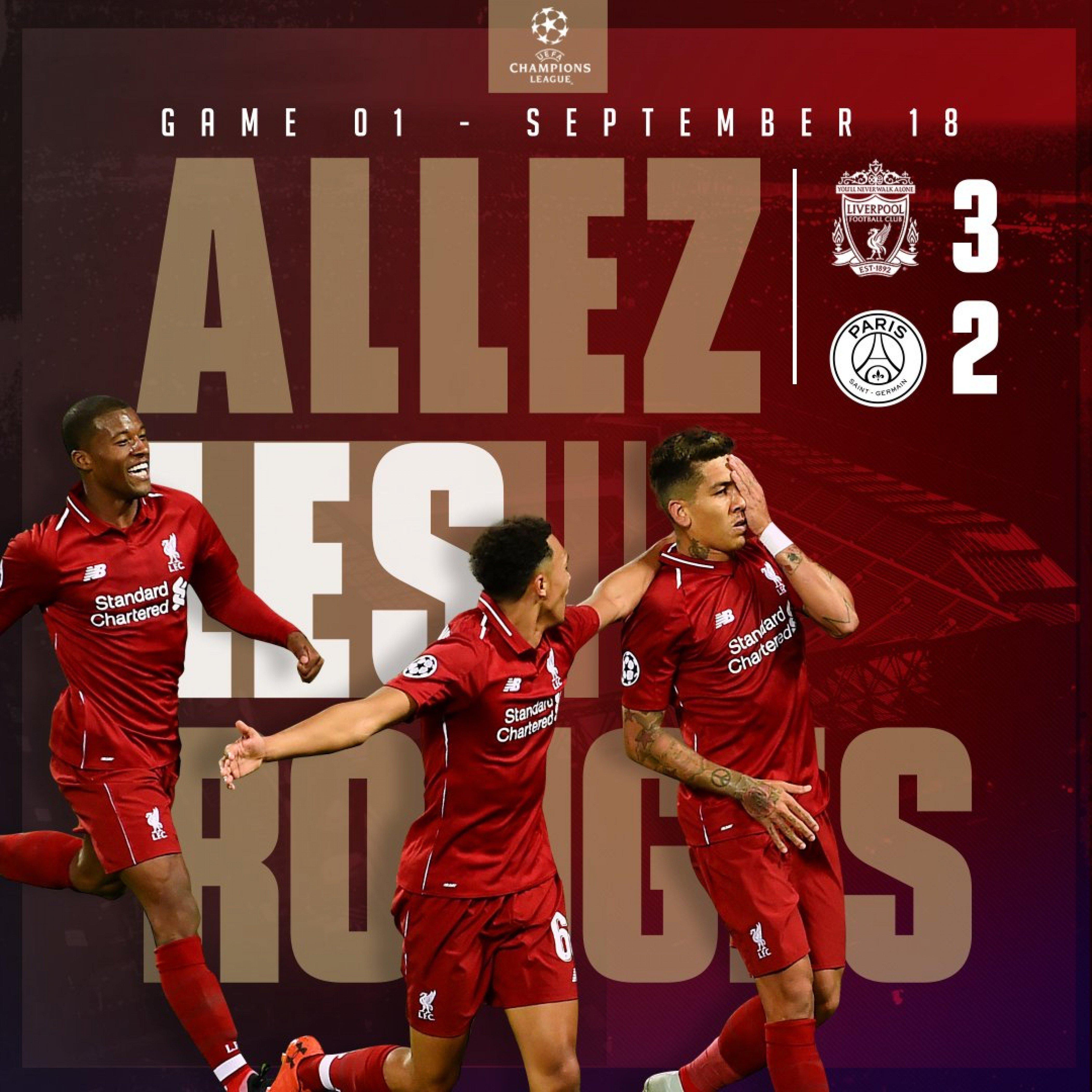 Liverpool, allez les rouge, vittoria fra paure e gioie