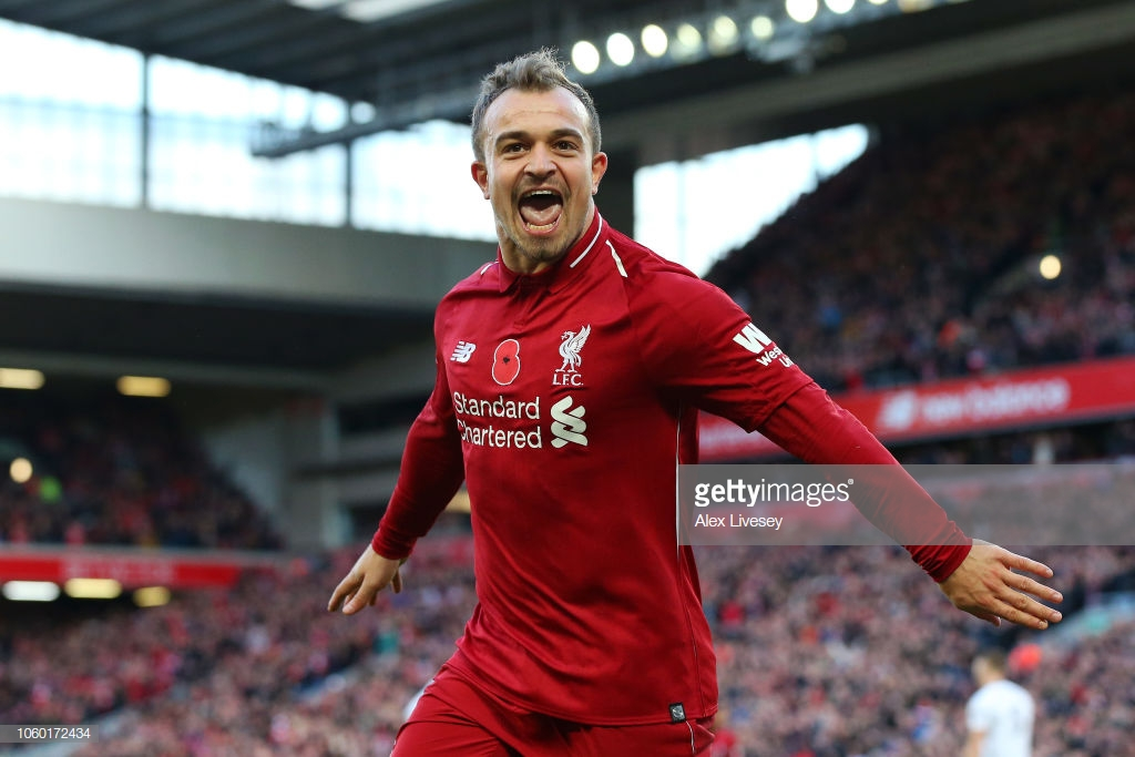 Liverpool 2-0 Fulham: Salah and Shaqiri down Cottagers as miserable run continues
