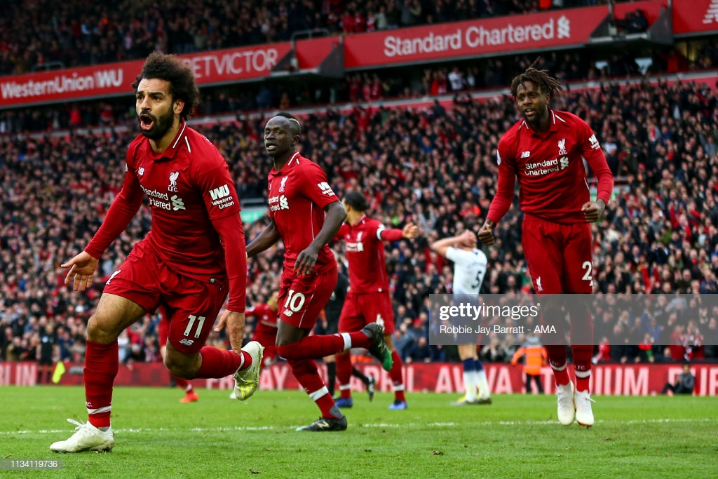 Liverpool 2-1 Tottenham Hotspur: Reds get themselves out of jail as another late goal keeps their title-credentials on track