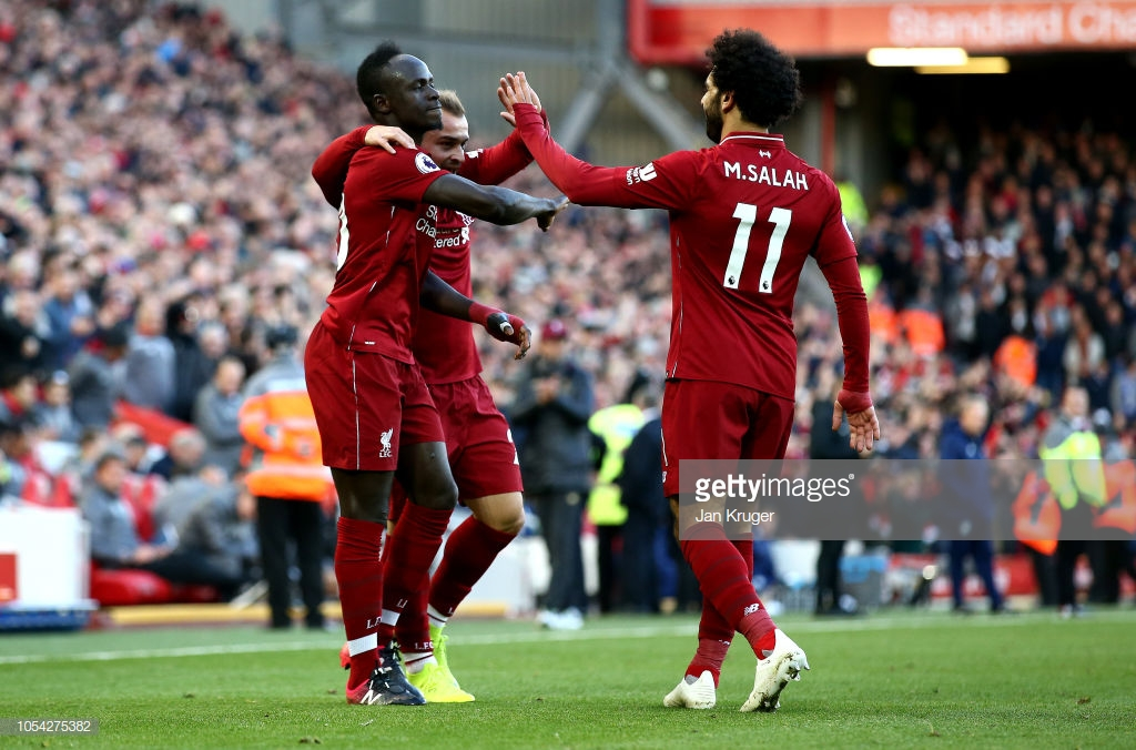 Liverpool 4-1 Cardiff City: Reds go top after convincing victory