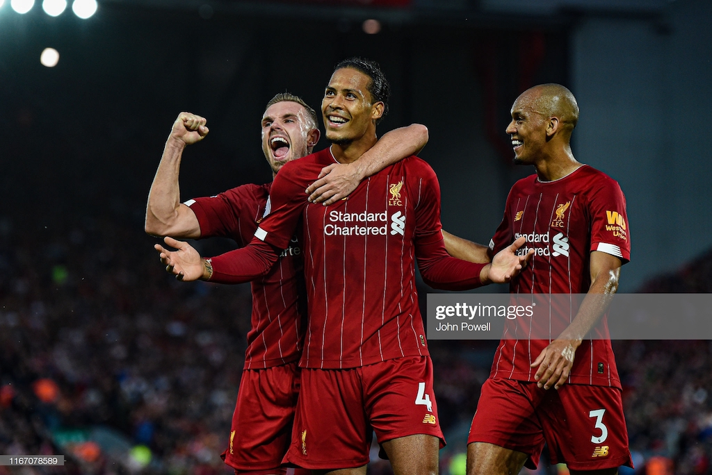 Liverpool 4-1 Norwich: Reds off to a flyer as they ease Premier League opener against the newly-promted Canaries