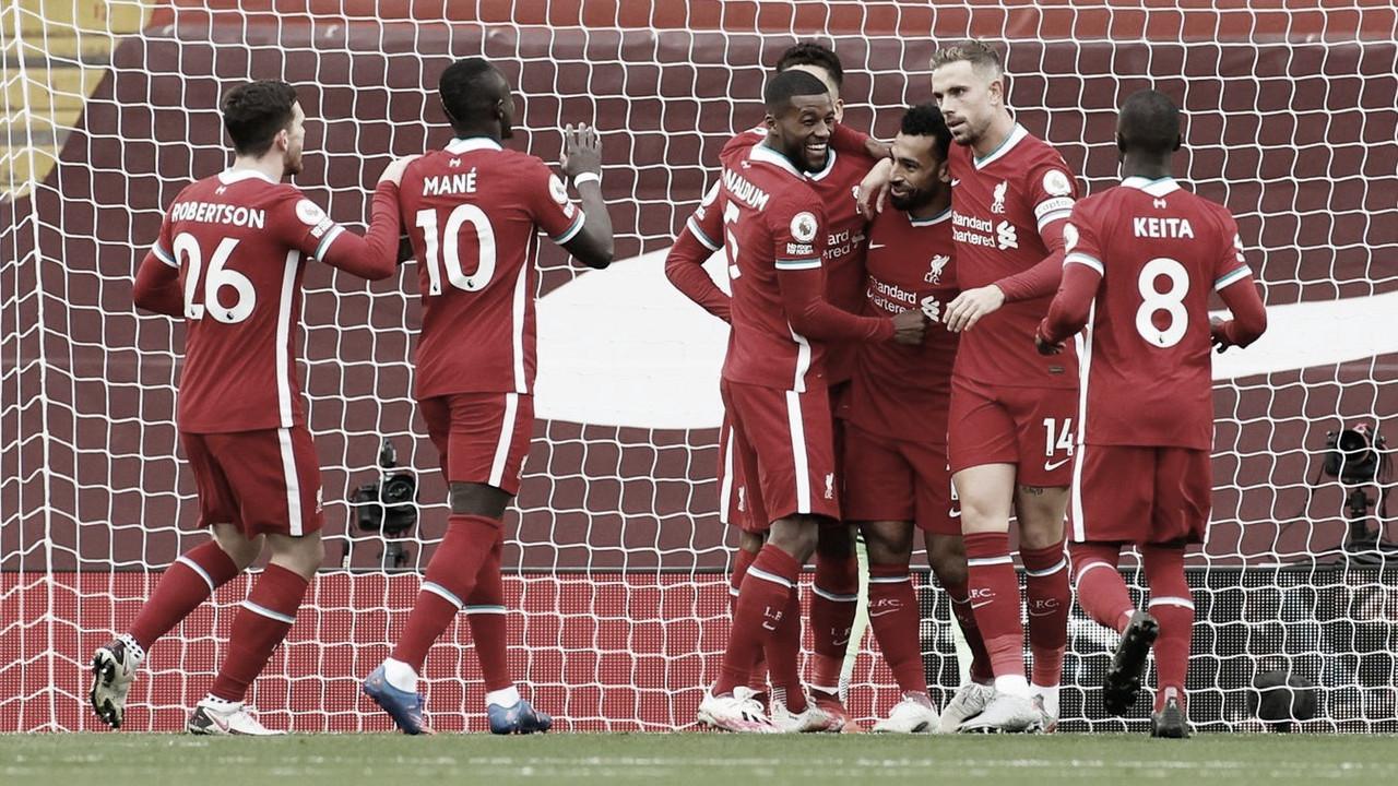 Liverpool entre algodones, pero siempre en alto