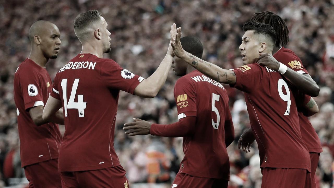 Liverpool abre la Premier League con una goleada
