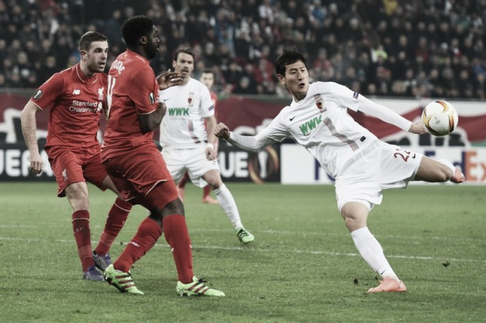 Liverpool - FC Augsburg Preview: Reds looking to progress into the last 16 of the Europa League