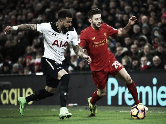 Inglaterra: Tottenham cilindra Liverpool em jogo histórico