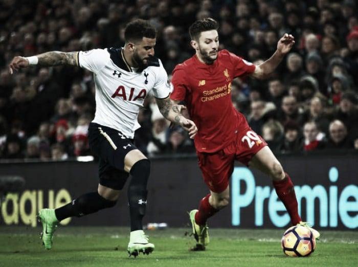 Tottenham goleia Liverpool na Liga Inglesa