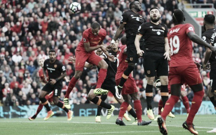 Liverpool 5-1 Hull City:Dominant Reds dismantle Tigers