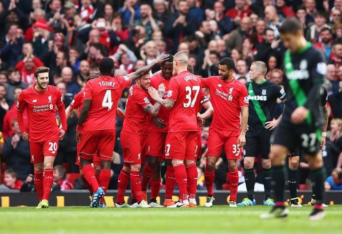 Liverpool a valanga sullo Stoke, 4-1