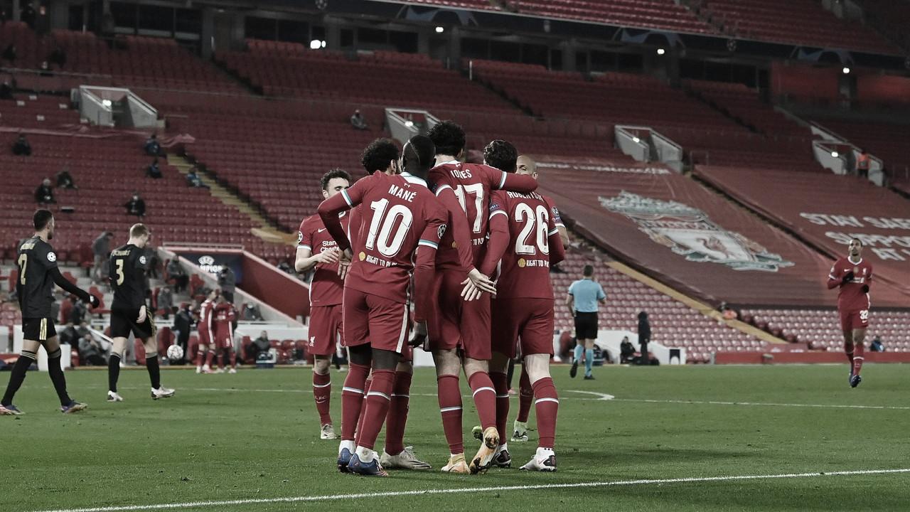 El Liverpool vence al Ajax en Anfield./ Foto: Liverpool