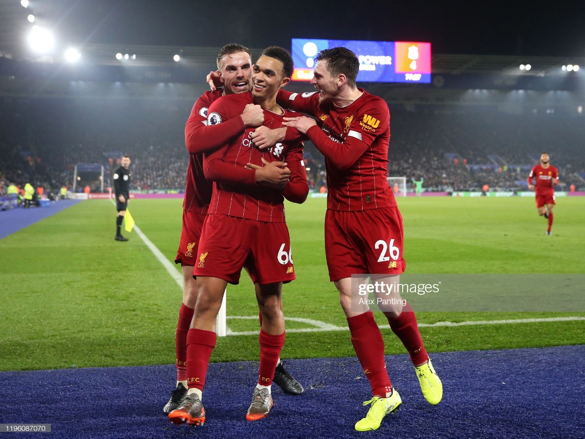 Leicester City 0-4 Liverpool: Sensational Reds go 13 clear with emphatic victory