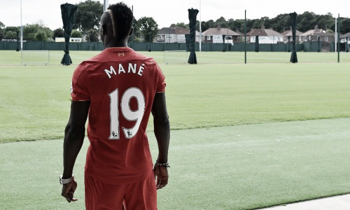 New Liverpool man Sadio Mane insists he's feeling right at home
