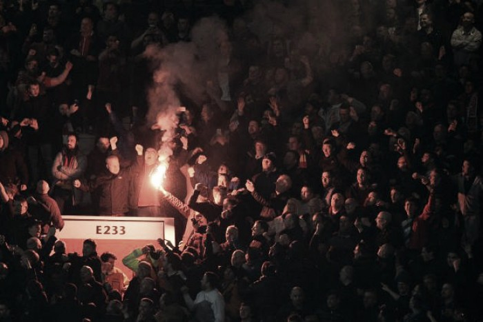 Manchester United fined for fans behaviour against Liverpool in UEFA Europa League