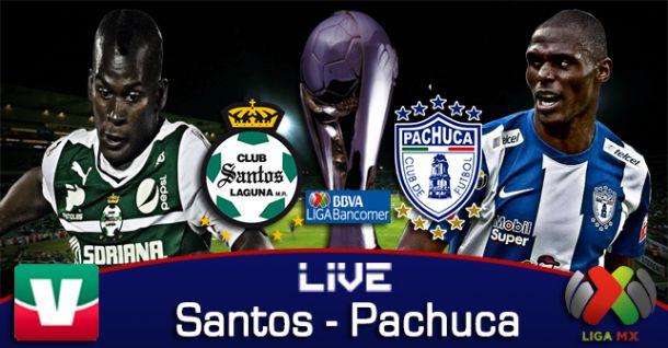 Resultado Santos - Pachuca en Liguilla Liga MX 2014 (4-2)