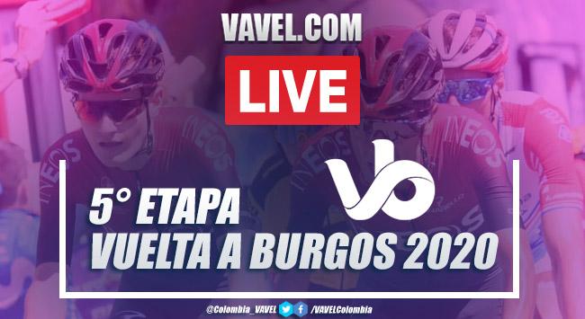 Resumen etapa 5 de la Vuelta a Burgos: Covarrubias - Lagunas de Neila