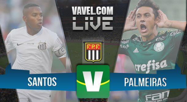 Resultado Santos x Palmeiras na final do Campeonato Paulista 2015 empênaltis(2-1)