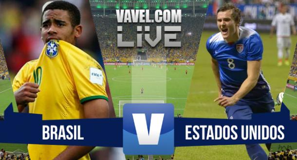 Resultado Brasil x Estados Unidos pelo amistoso da Seleção Olímpica (5-1)