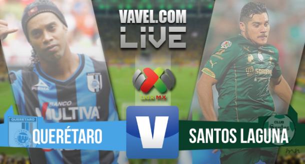 Resultado de Querétaro x Santos pela final do Campeonato Mexicano 2015 (3-0)