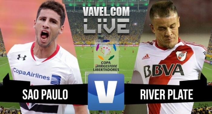 Resultado San Pablo 2-1 River Plate en Libertadores 2016
