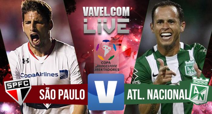Resultado São Paulo x Atlético Nacional hoje (0-2)