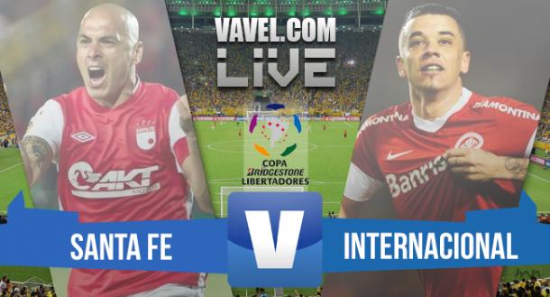 Resultado de Santa Fe x Inter na Copa Libertadores 2015 (1-0)