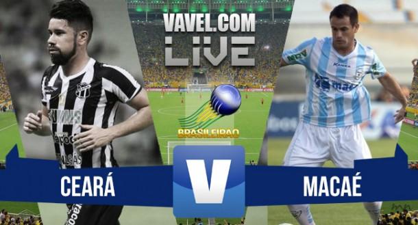 Jogo Ceará x Macaé ao vivo online no Brasileirão Série B 2015