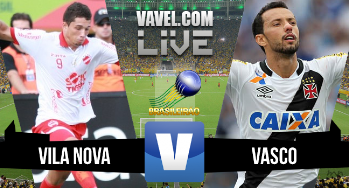 Resultado Vila Nova x Vasco na Série B do Campeonato Brasileiro (0-2)