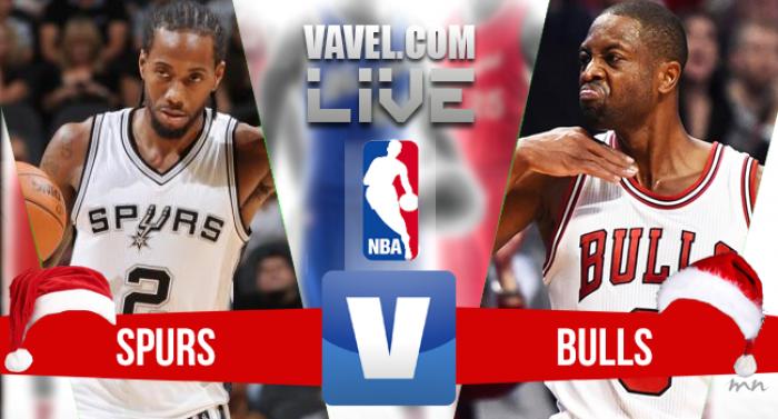 Jogo San Antonio Spurs x Chicago Bulls pela NBA 2016/2017
