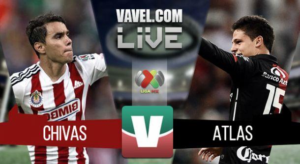 Resultado Chivas - Atlas en ida de cuartos de final Liga MX 2015 (0-0)