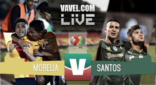 Resultado Monarcas Morelia - Santos Laguna en la Liga MX 2015 (0-1)