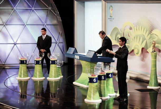 Sorteio dos grupos da Copa do Mundo Brasil 2014